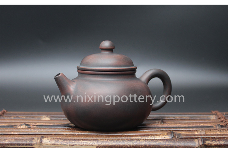 Pure Handmade Ceramic Family Kungfu Tea Pot Chinese Qinzhou Nixing Pottery Clay Pot