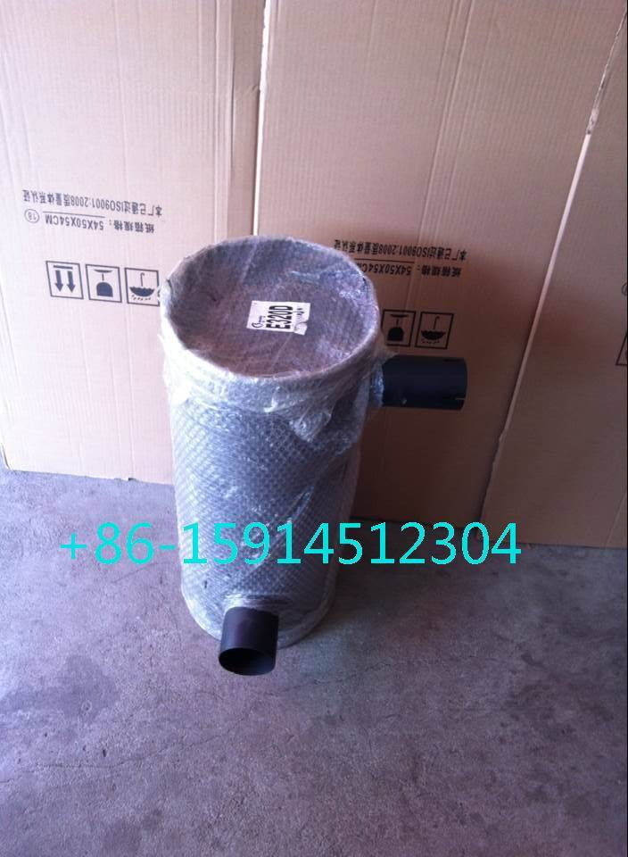 3264635 Caterpillar E320D muffler electronic with tube for excavator