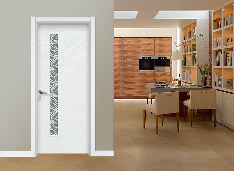 HONMAX White Swing Interior Wood Door for Chinese Supplier of Door