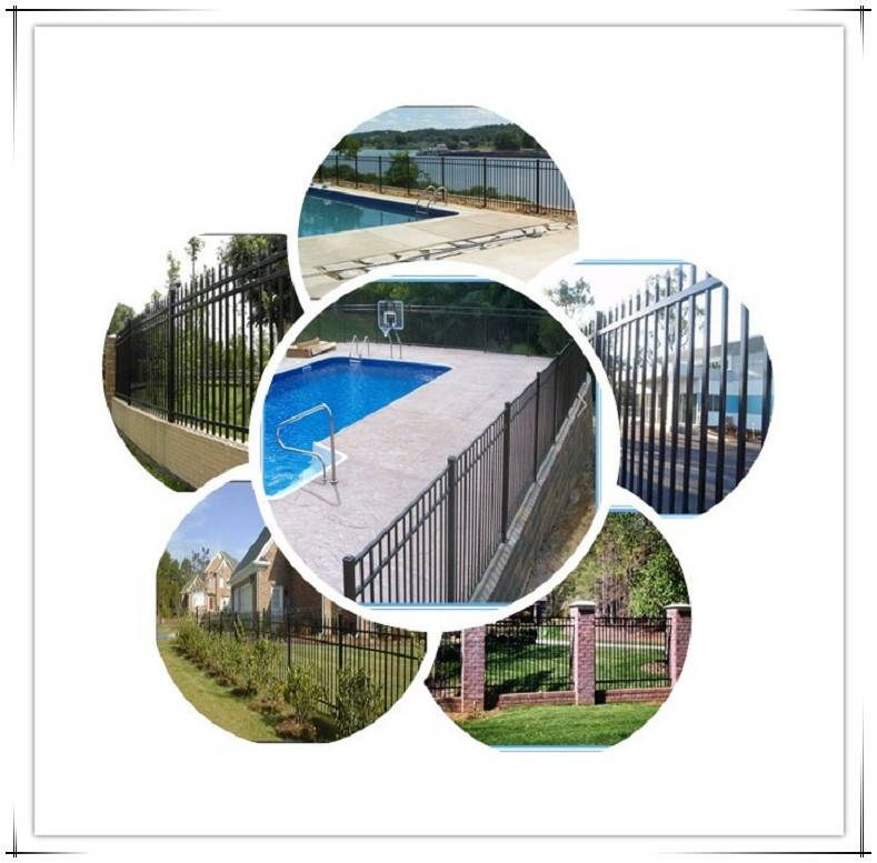 Very cheap anf best quality Garden decorative aluminum fence