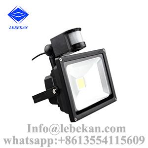 Factory price online selling 30w 50w 100w 150w 200w pir led flood light