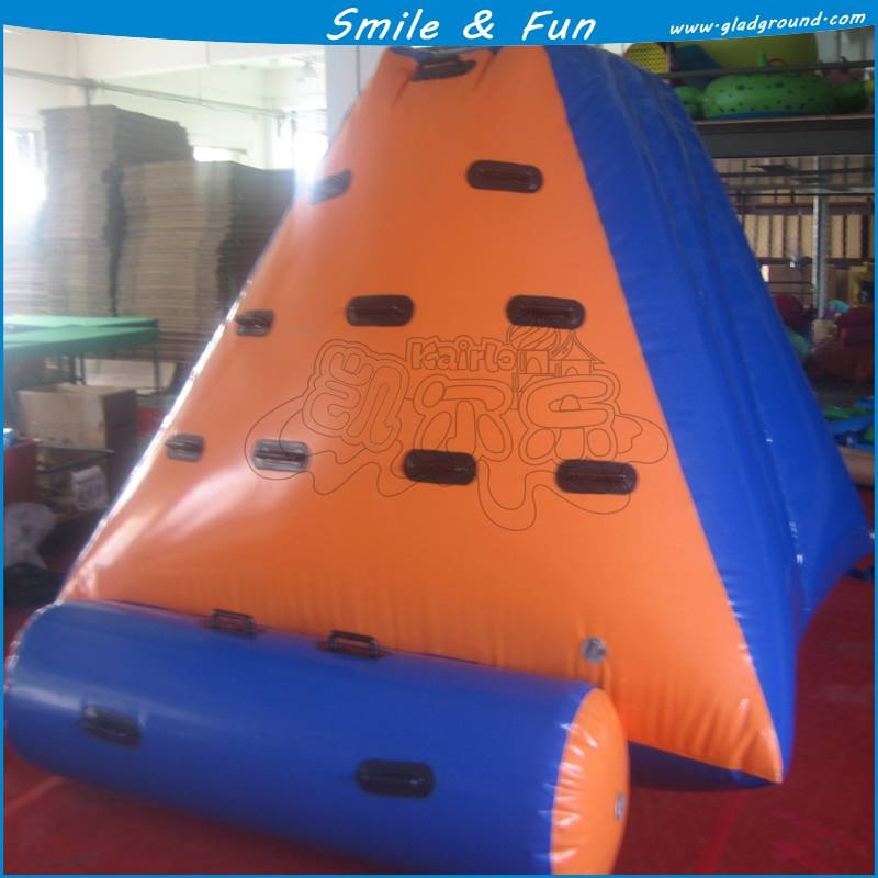 The water game of inflatable Ice berg with PVC0.6mm