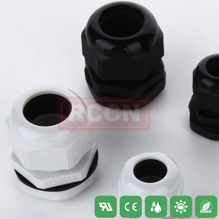 Nylon cable gland metric cable connector waterproof IP68