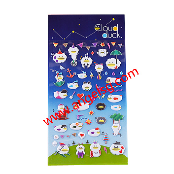 Halloween Ghost Party Puffy Stickers