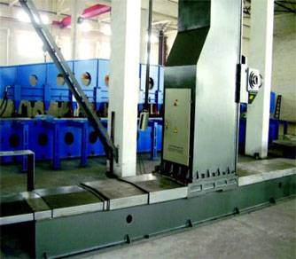 Beam Face Milling Machine