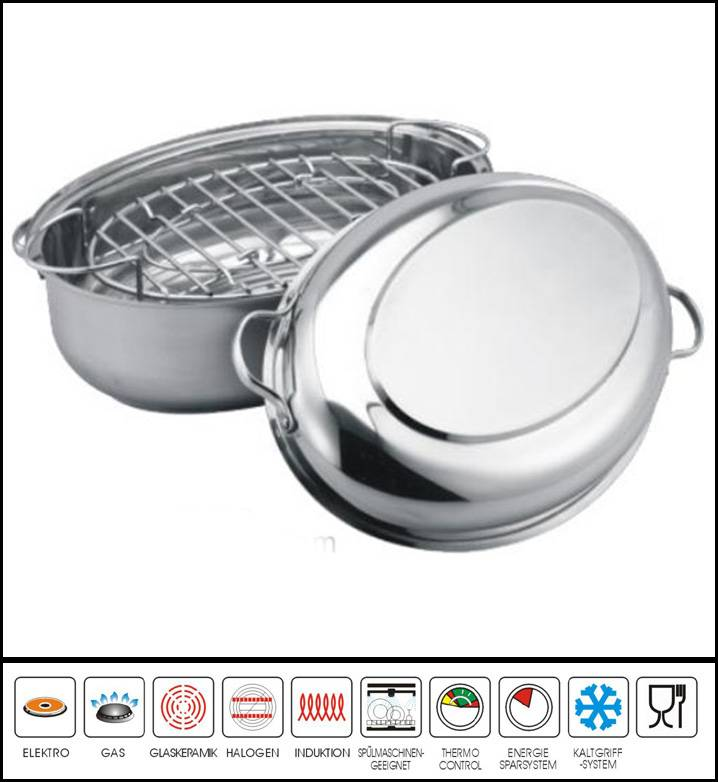 OVAL ROASTER PAN