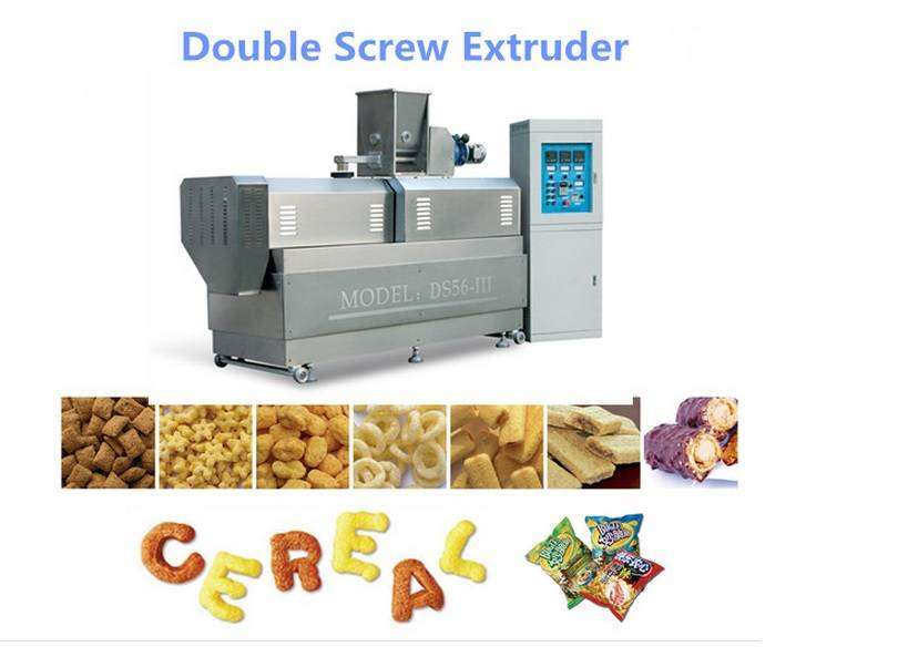 Twin Screw Extruder for Puff Snacks