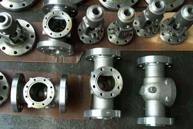 Lost wax steel and stainless steel castings
