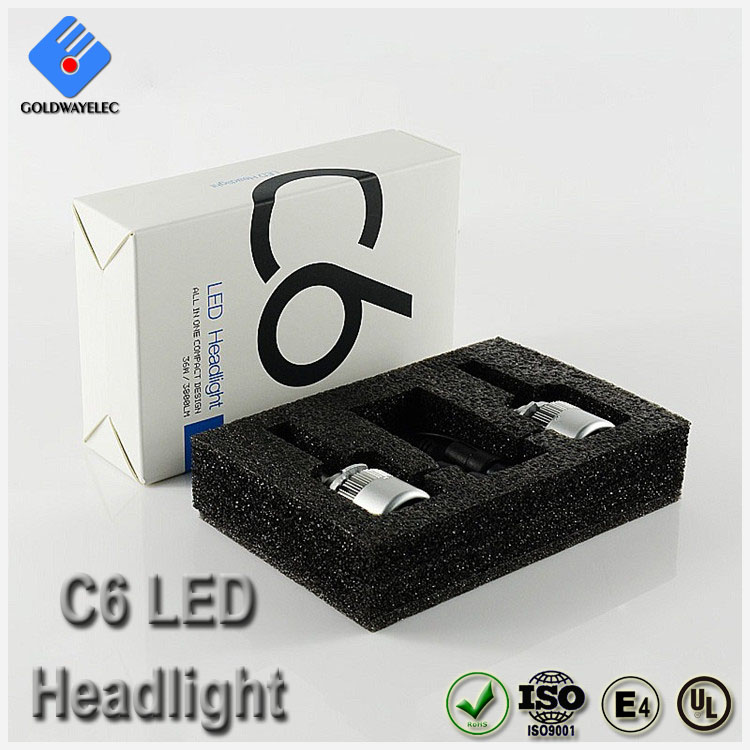 Manufacturer Wholesale High Brightness C6 COB 9005 LED Headlamp