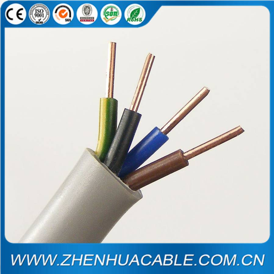 BVV PVC Insulated Sheathed Round Flexible Copper Wire