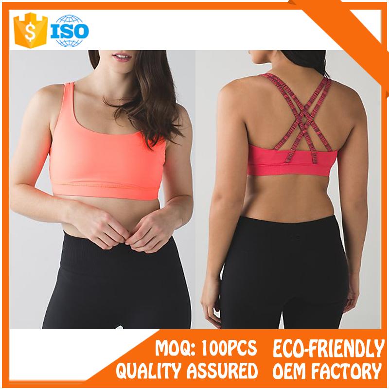 high quality fitness wear gym women hot sex sport bra