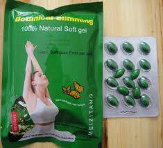 100% natural Meizitang botanical slimming softgel