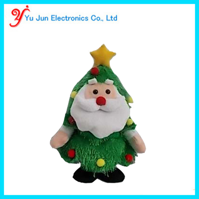 -Animated XMAS SANTA TREE