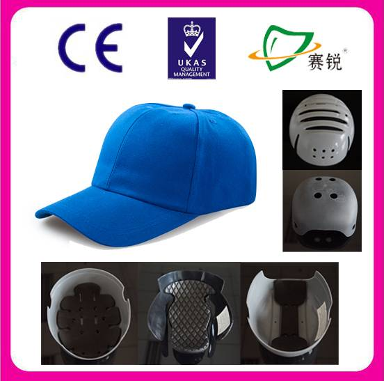protective baseball cap style safety bump caps CE EN812