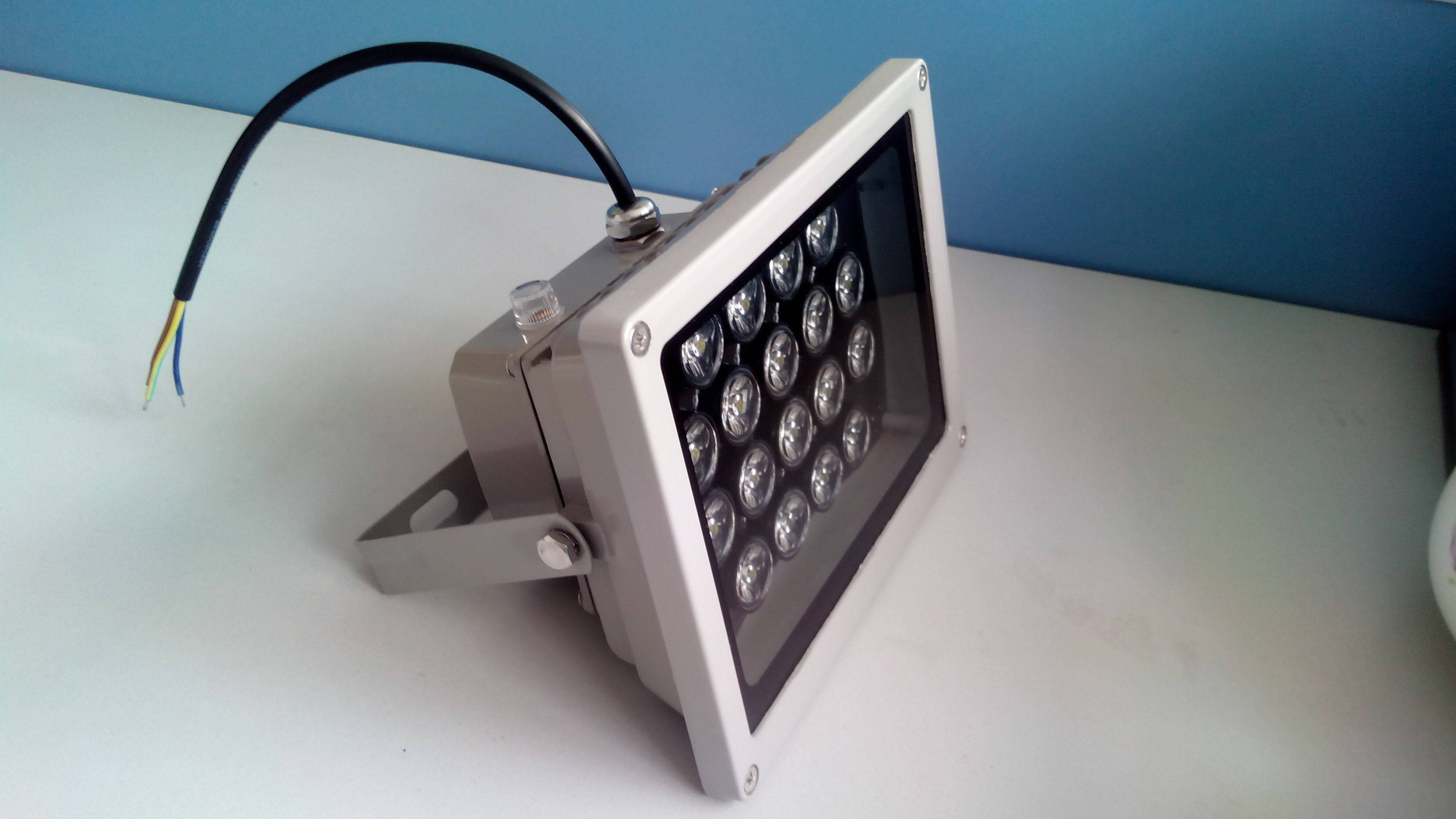 IP65 Waterproof 54W Light Sensor LED Flood Light Lamp Outside Security Wall Flood Garden Garage Ligh
