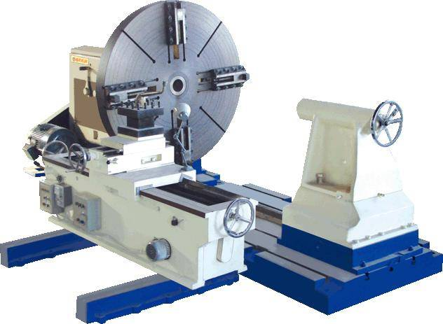 New ! Big Drum Roll Rotor Roll Processing Turning Manual Heavy Duty Surfacing Facing Lathe Machine