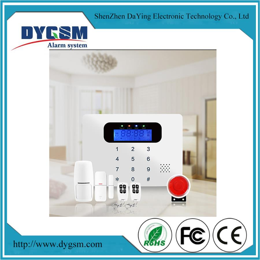 Home Wireless 7 Inch Touch Screen Auto-Dial/SMS Alarm System For Pe Security
