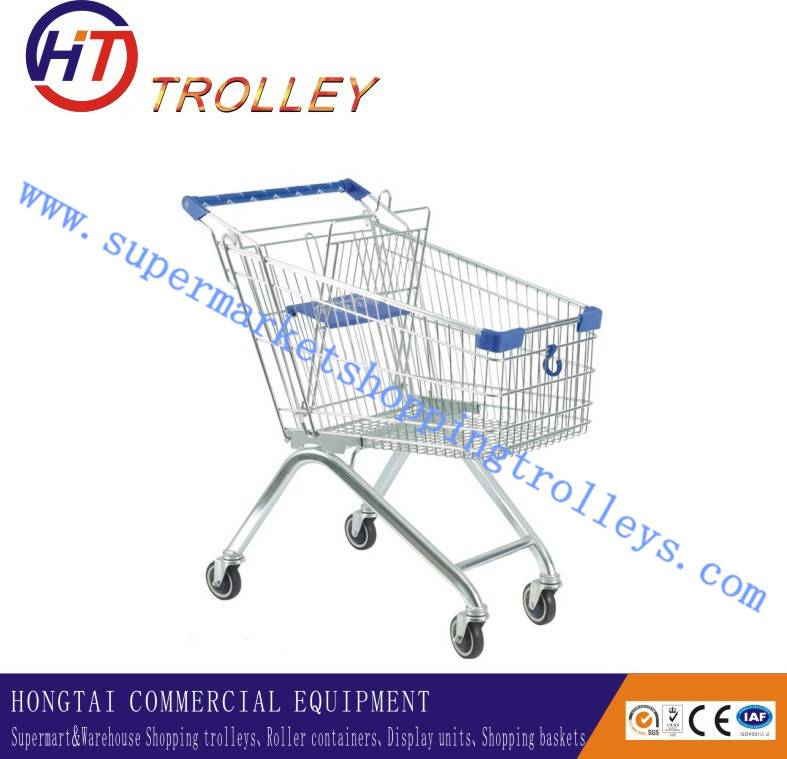 Factory Direct Sales European Style Hand Trolley Shopping Cart