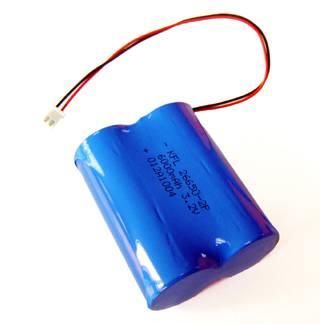 LiFePO4 Battery Pack with 3.2V 6000mAh Nominal Capacity