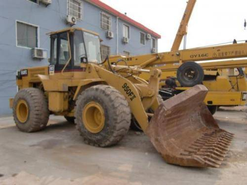 Used CAT950F-II wheel loader