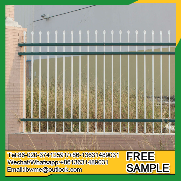 Cheap price Germany ornamental picket fence France iron fence experience exporter