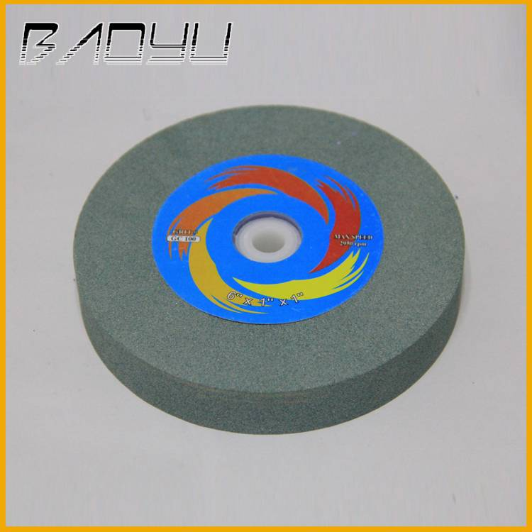 Flexible Hole Silcon Carbide Green Silicon Carbide Grinding Wheel