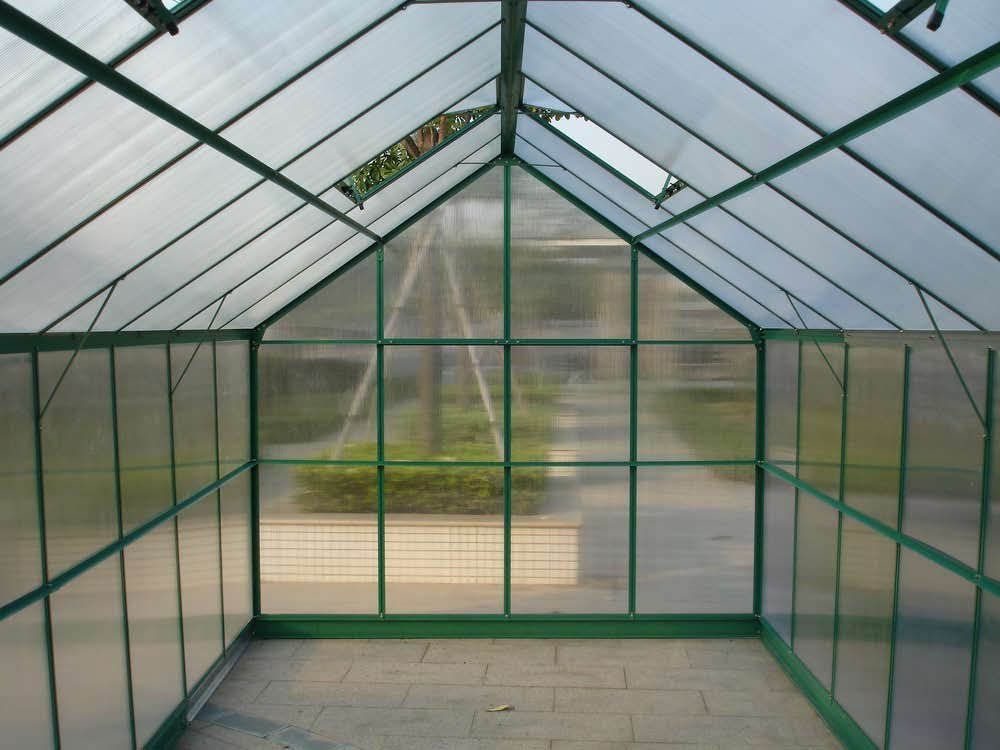 uv coated 8mm greenhouse roofing polycarbonate hollow sheet plastic garden sheds lexan polycarbonate