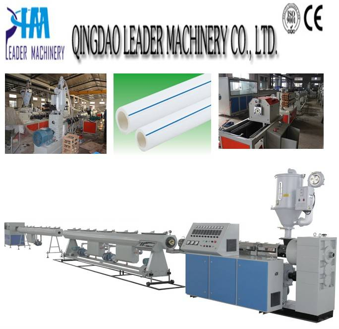 PPR water supply pipe extrusion line