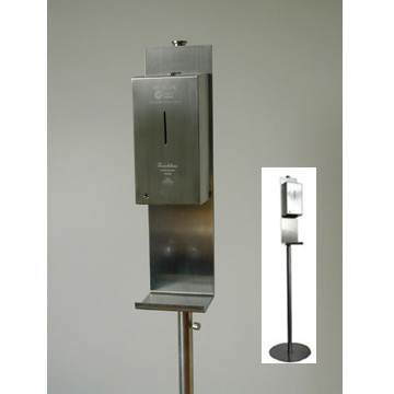 Stainless Steel Automatic Soap/Spray Dispenser With Floor Standing