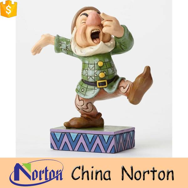 Large fiberglass cartoon seven dwarf statues for sale NTRS-005Y