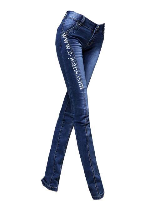 2014 Latest Design Fashionable Skinny Ladies Jeans (1483)