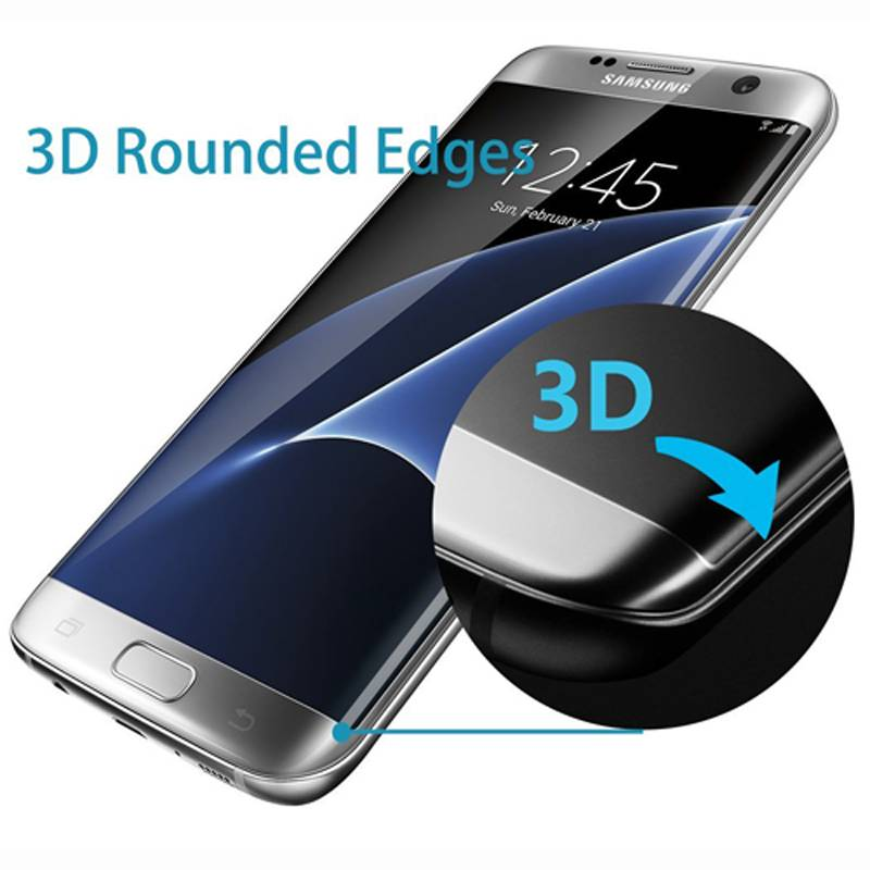 9H Tempered Glass Screen Protector Scratch Free Slim Guard for Samsung Galaxy S7 Edge