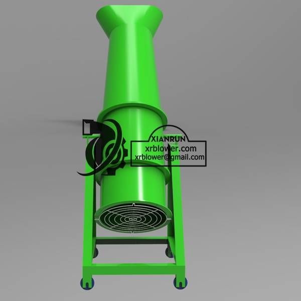New Design Cement Kiln Cylinder Cooling Fan