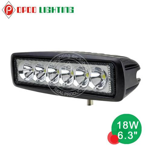 """Top Hot 6.3"""" Offroad 4x4 Tractor 18W Led Work Light"""