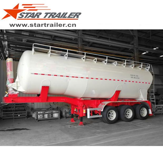 3 Axles Lifting Tanker Semi-trailer