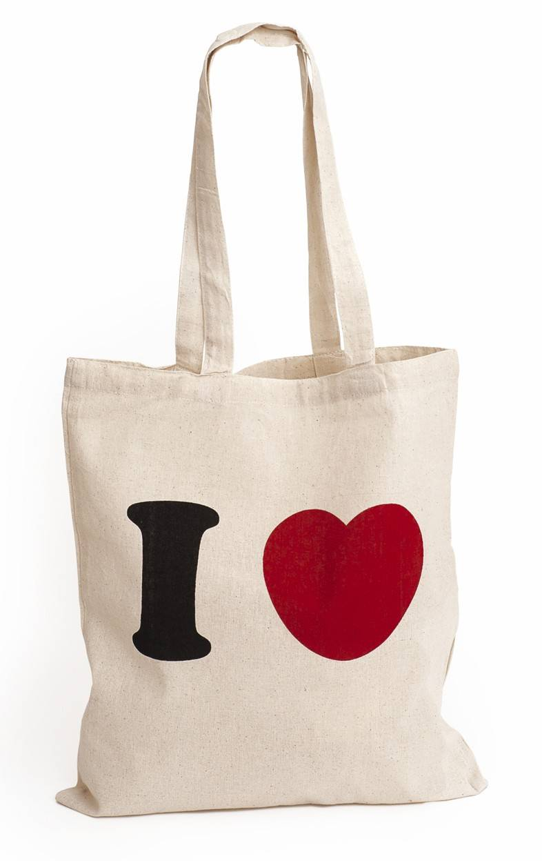Custom logo cotton shopping bag