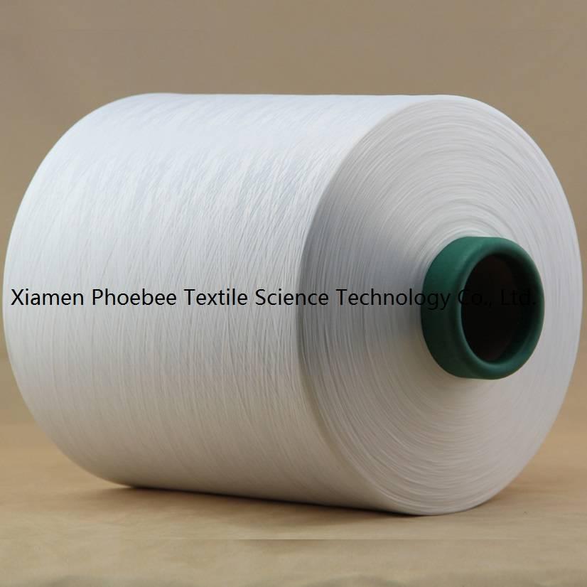 Polyester Yarn DTY 75d/144f sim raw white SD AA grade