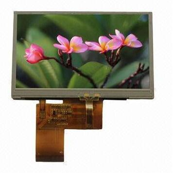 4.3 inch 480x272 TFT LCD display module with touch screen