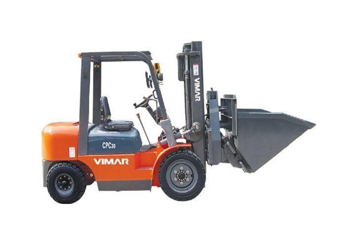 CPC30 Manual Pallet Forklift 3,0ton