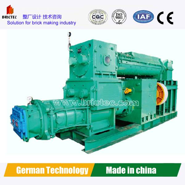 Competitive clay brick making extruder machine made in China