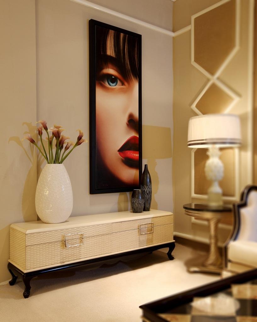 Modern Commercial Livingroom Wooden TV Cabinet