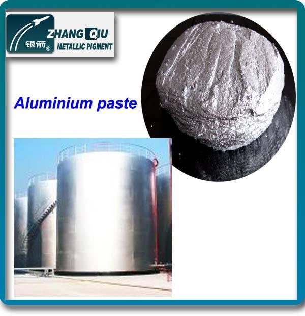 Industry paint standard leafing metallic pigment aluminum paste