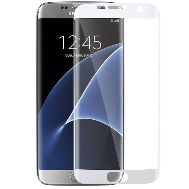Hot selling 3D tempered glass film screen protector for Samsung S7 edge