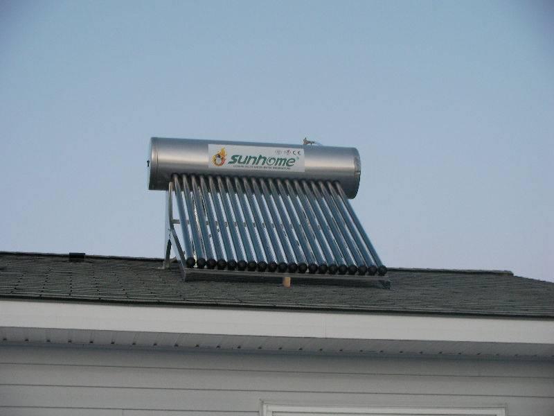 Flat  Plate Solar  Wate  Heater