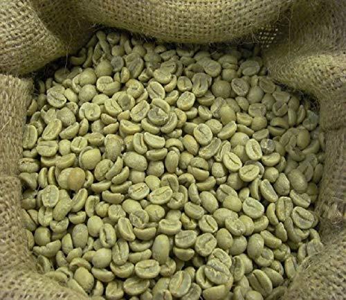 Raw Arabica coffee beans