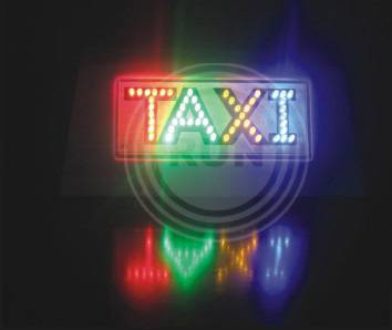 taxi light,taxi led light,taxi top light
