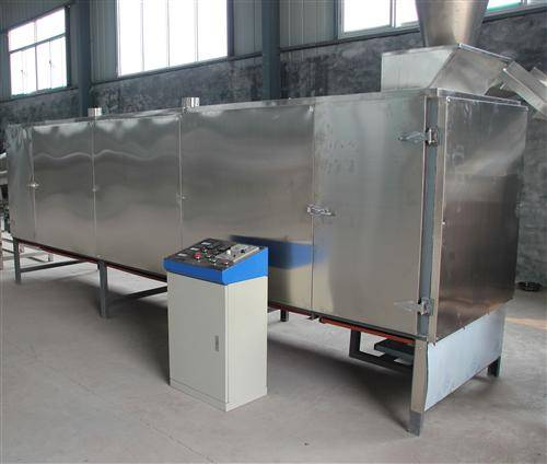 Multilayer Electric / Gas Continous Dryer For Puffed Food Artificial Rice