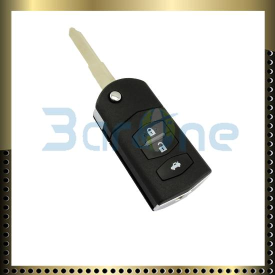 3 button car key shell for Mazda