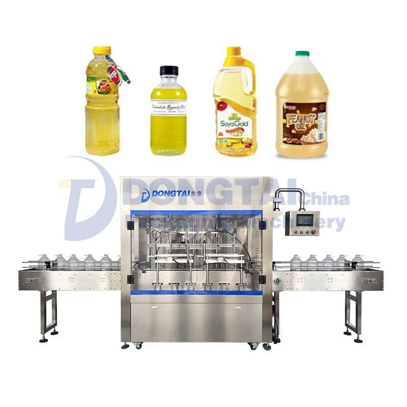 Automatic weighing edible oil filling machine Automatic Liquid Filling Machine