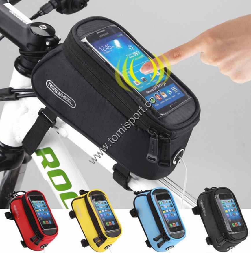 bicycle Front Tube Phone Bag